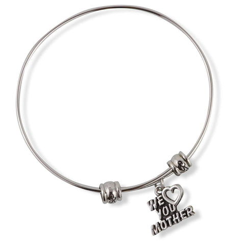 We Heart ( Love ) You Mother Fancy Bangle