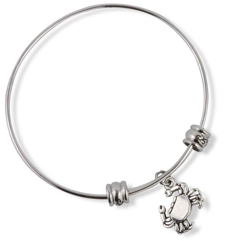 Crab Charm Fancy Bangle