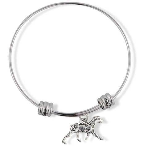 Dalmatian Bracelet Bangle Gift Gifts for A Proud Dog Owner Mom Dad Boys Girls Teens Kids Jewelry Jewlry Charm Mom Accessories Stuff Gift for Men Women Decor Dalmation