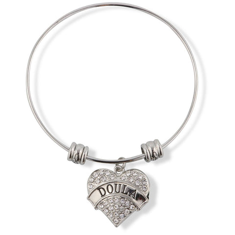 Doula Fancy Charm Bangle
