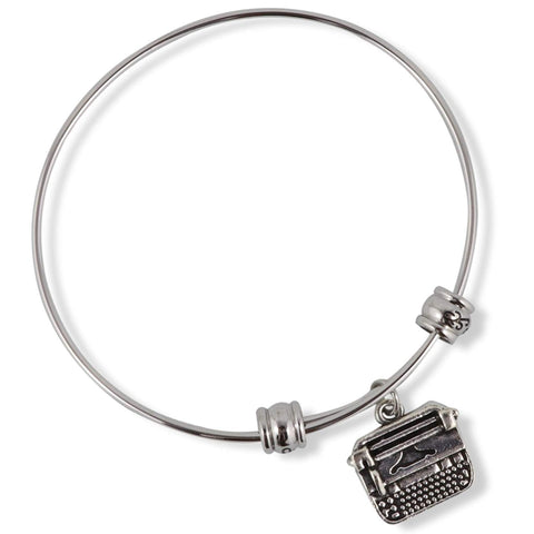 Typewriter Fancy Bangle