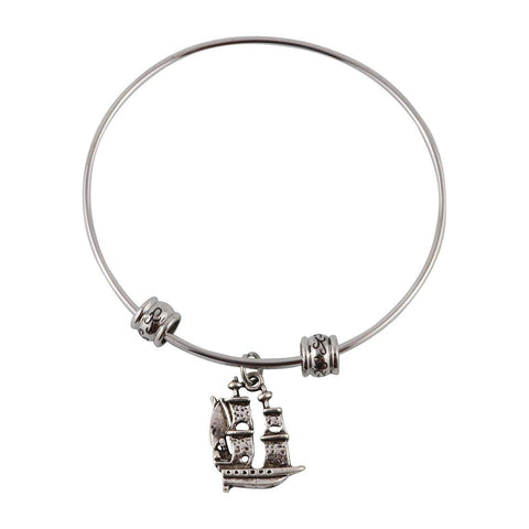 Sailing Ship Fancy Bangle