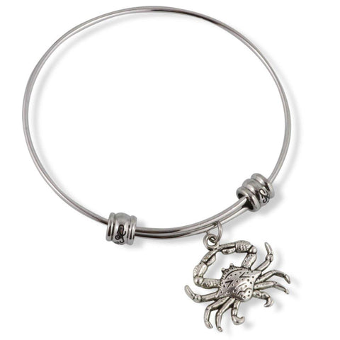 Crab ( with detail on shell ) Fancy Bangle