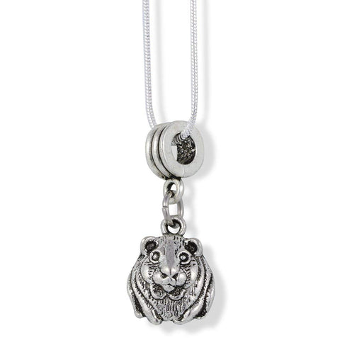 Emerald Park Jewelry Hamster Charm Snake Chain Necklace