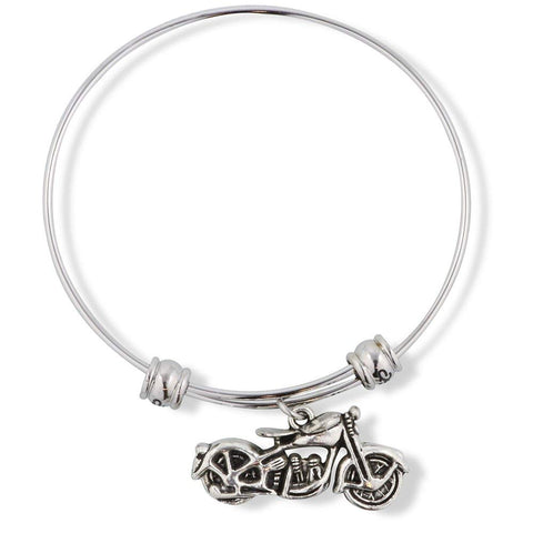 Emerald Park Jewelry Harley Davidson Triumph Indian Motorcycle Fancy Charm Bangle