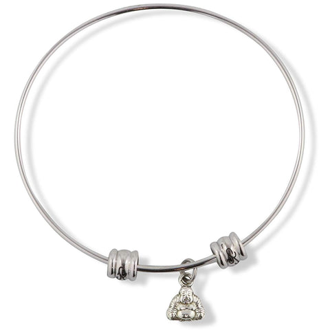 Buddha ( small bust ) Fancy Charm Bangle