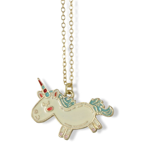 Unicorn Necklace Jewelry Charm Stuff Colorful Unicorn Gifts for Girls Women Men Boys Pendant Accessories and Gift for Anyone