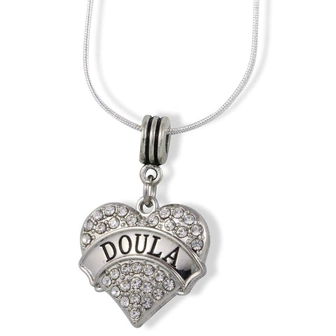 Doula Charm Snake Chain Necklace
