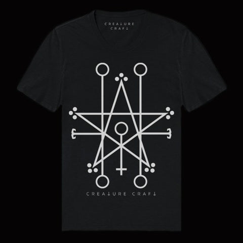 Demon sigil satanic shirt - creature craft co