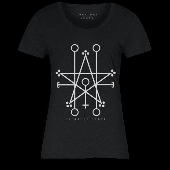 Demon sigil shirt womens - creature craft co