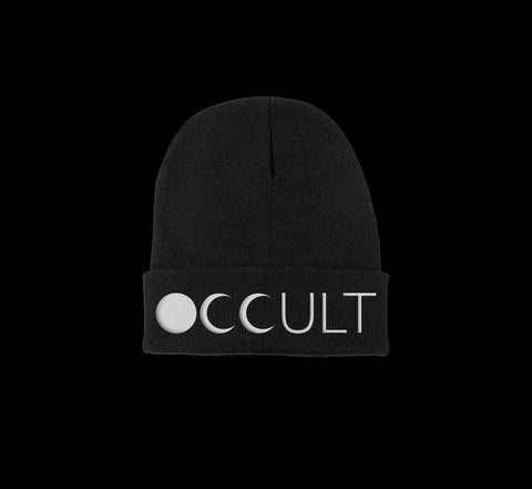 occult beanie - creature craft co