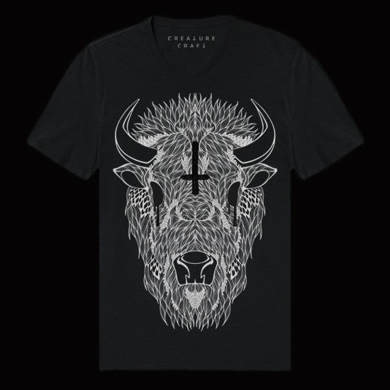 buffalo shaman shirt mens - creature craft co