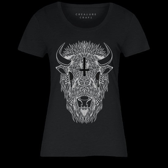 buffalo shaman shirt womens - creature craft co