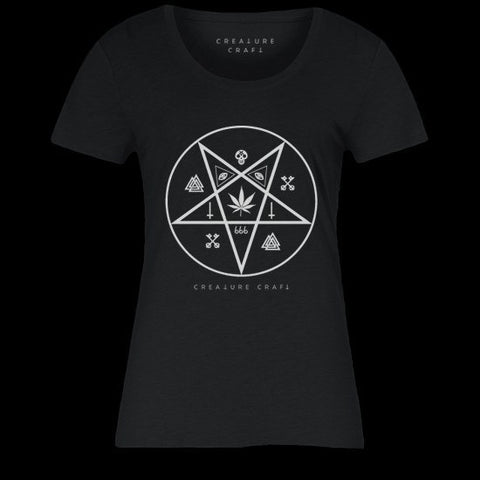 devils lettuce shirt womens - creature craft co