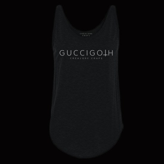 gucci goth tank top womens - creature craft co