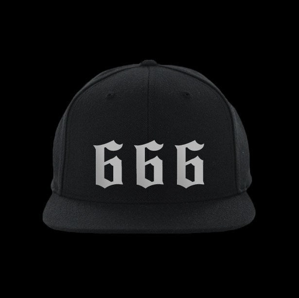 666 snapback hat - creature craft co