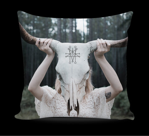 witchcraft occult pillow - creature craft co
