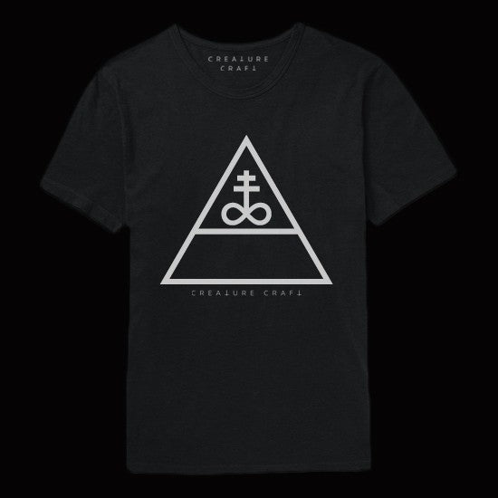 triangular satan shirt mens - creature craft co