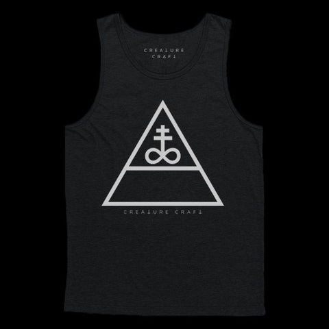 triangular satan tank top - creature craft co