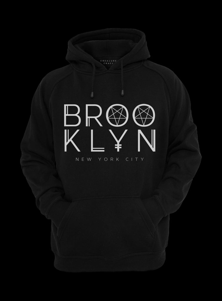 Brooklyn occult hoodie - creature craft co