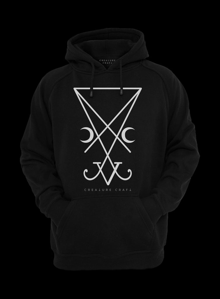 sigil of lucifer hoodie - creature craft co