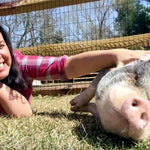Animal Advocates Jon and Tracey Stewart Open Farm Sanctuary