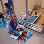 Kids Help Missouri Dogs in Shelter Buddies Reading Program