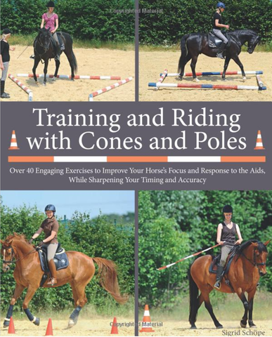 Horse Training Books-Training and Riding with Cones