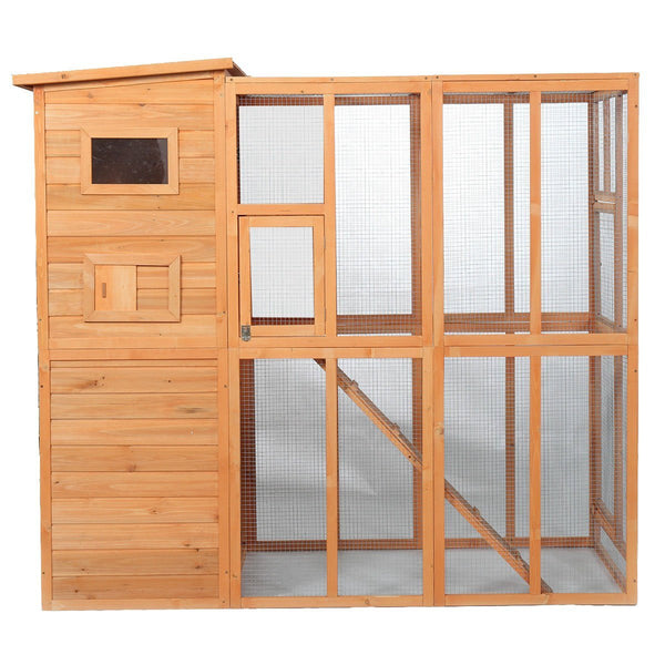 Outdoor Pet Enclosures for Cats wooden