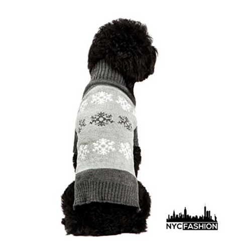cold weather dog sweater