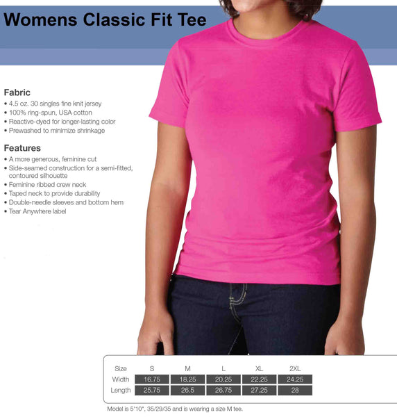 Womens Classic Fit Tee