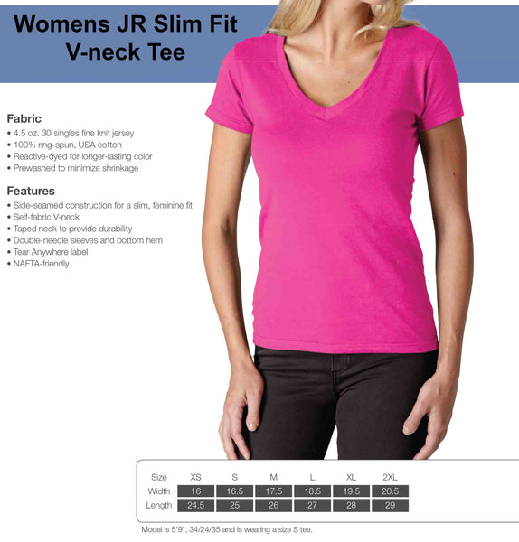 Womens JR Fit V-neck Tee