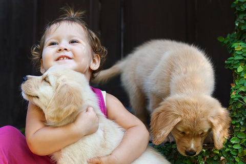 challenged kids have benefits of owning a pet