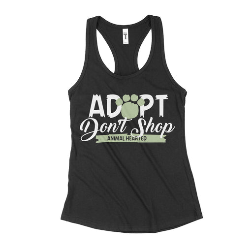 Adopt Don't Shop Animal Rescue Tank Top