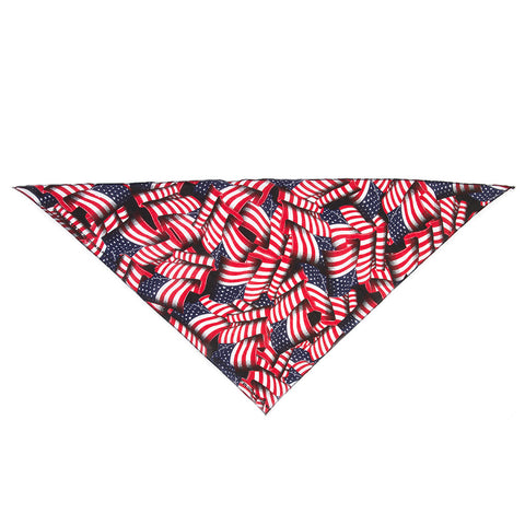 'American Flag Dog Bandana'
