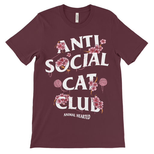 Anti Social Cat Club Shirt