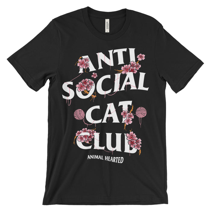 Anti Social Cat Club T-Shirt