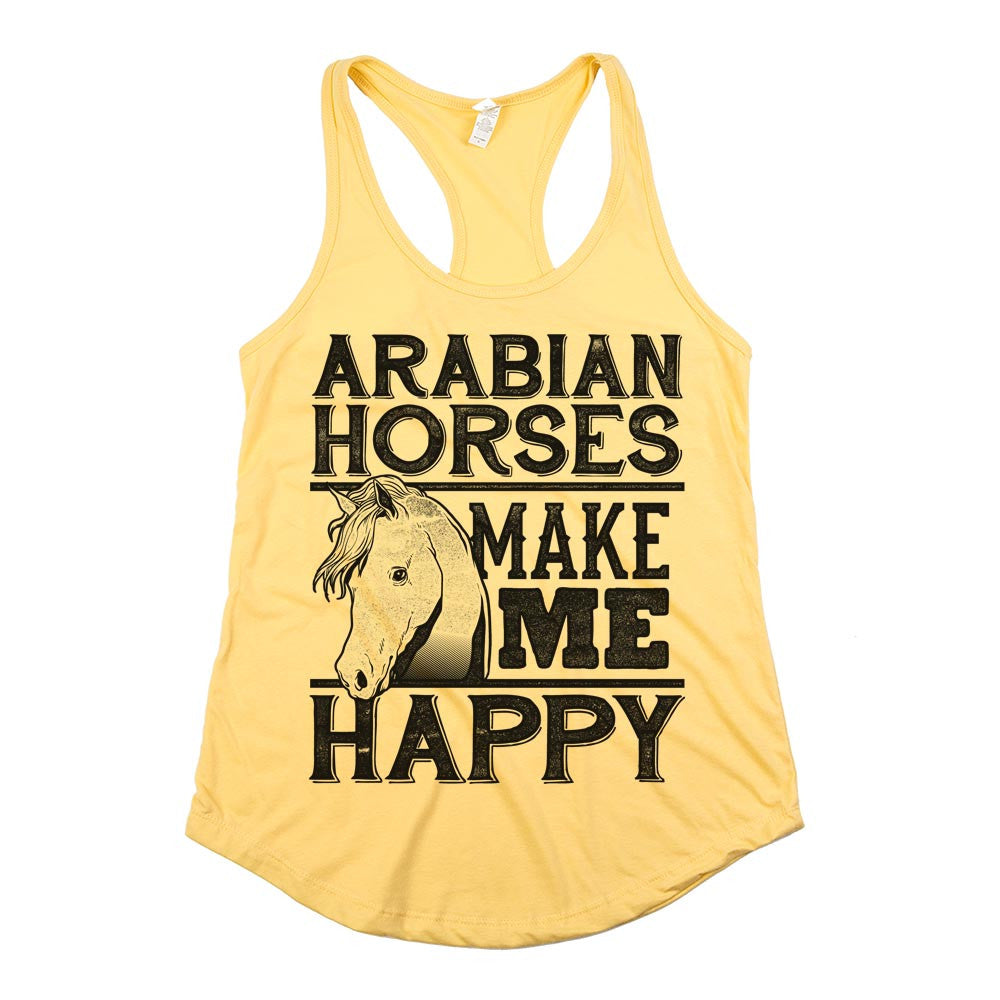 2b55fd6c 'Arabian Horses Make Me Happy'. From $ 23.95. Give Me Horses and Tell Me  I'm Pretty Womens JR Slim Fit Tee Athletic. '