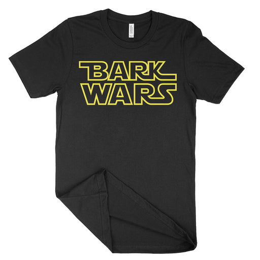 Bark Wars Star Wars Dog Parody T-Shirt