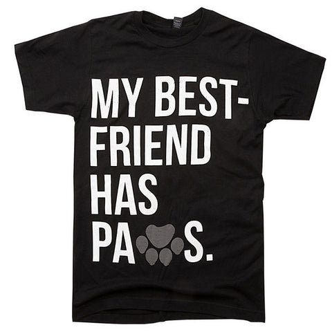 Best Friend Unisex tee Black