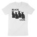 black cats flag parody shirt