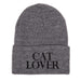 Grey Cat Lover Beanie