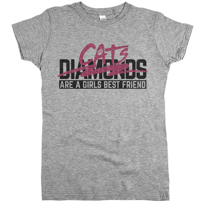 'Diamonds Cats Are A Girls Best Friend'