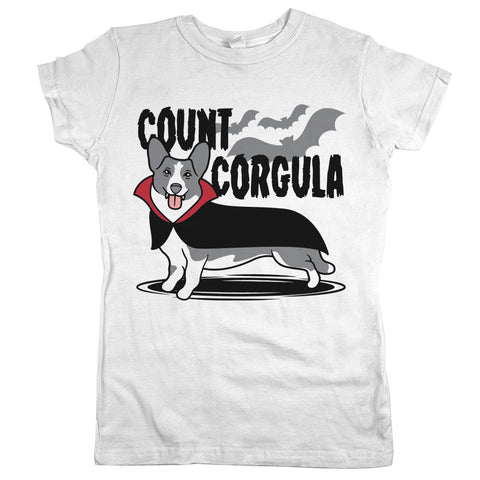 Count Corgula Shirt White Womens