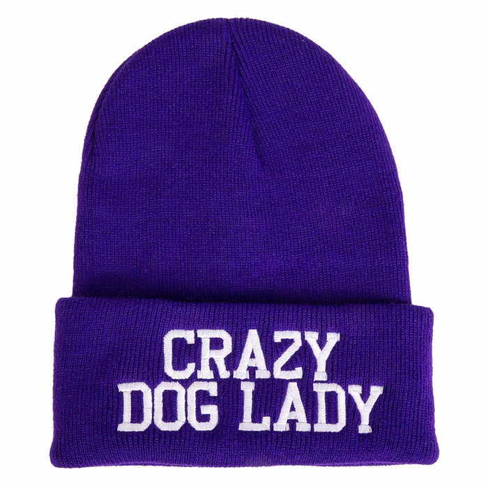 'Crazy Dog Lady' Beanie