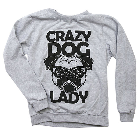 Crazy Dog lady Sweater