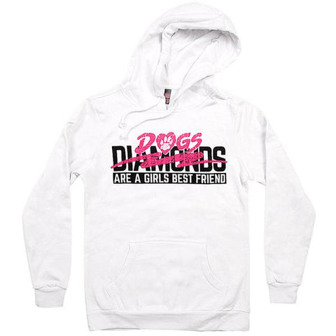 'Dogs are A Girls Best Friend Sweatshirt""