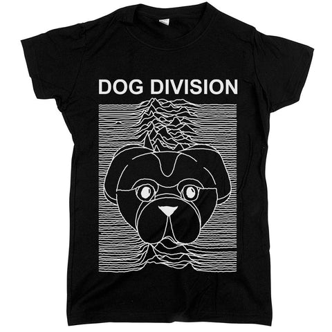 Dog Division Womens JR Slim Fit Tee Black