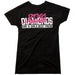 Dogs Diamonds Are A Girls Best Friend Tee Black
