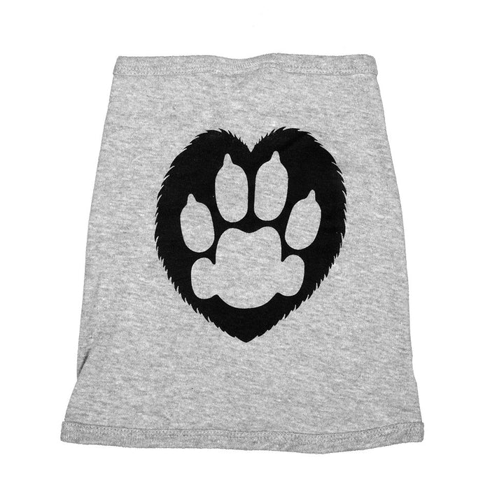 Grey Doggy Tank Top